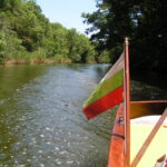 Boottocht over de Rotpotamo rivier