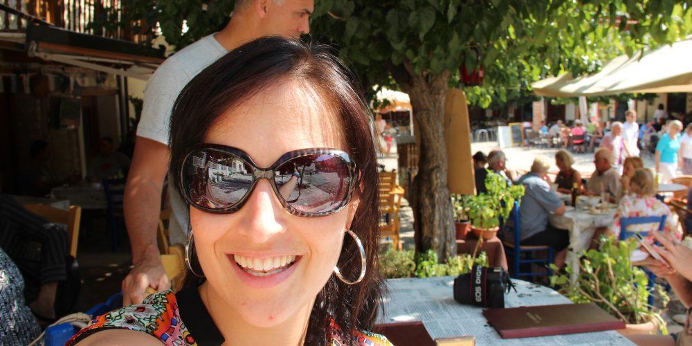 Als een Godin op Cyprus