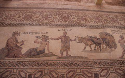 Mozaïek in Paphos