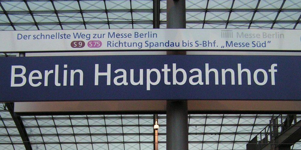 Per trein naar Berlijn