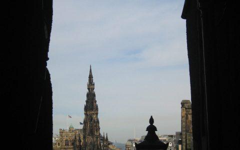 Edinburgh Castle uitzicht