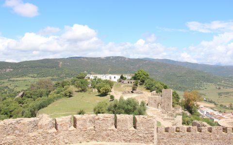 ruïnes in het binnenland