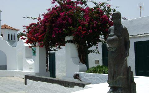 dorp in Lanzarote