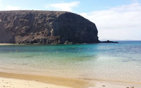 strand bij Papagayo