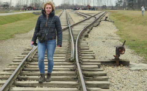 Auschwitz II Birkenau - spoorlijn